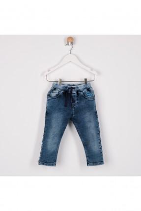بنطال جينز بيبي ولادي بكحتة
