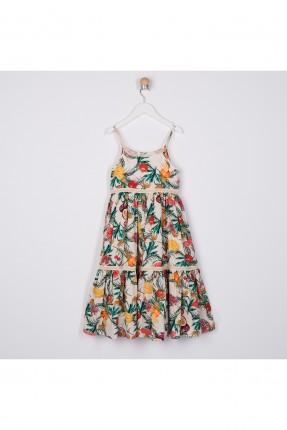 فستان اطفال بناتي بنقشة فواكه