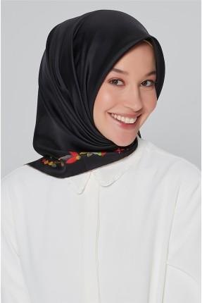 حجاب مزهر من الاسفل