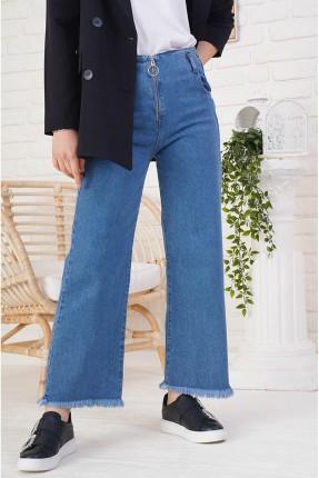 بنطال نسائي جينز بسحاب