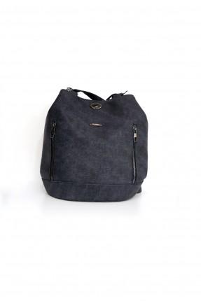 حقيبة ظهر نسائية بسحاب على الجوانب