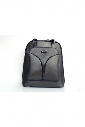 حقيبة ظهر نسائية بسحاب امامي