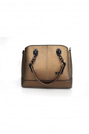 حقيبة يد نسائية بسلسال معدني