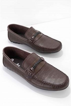 حذاء رجالي مزين بجدلة