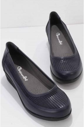 حذاء نسائي - كحلي