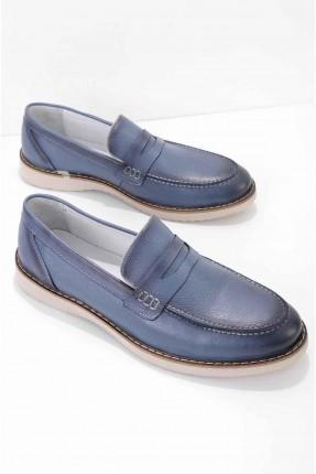 حذاء رجالي مزين بدرزة