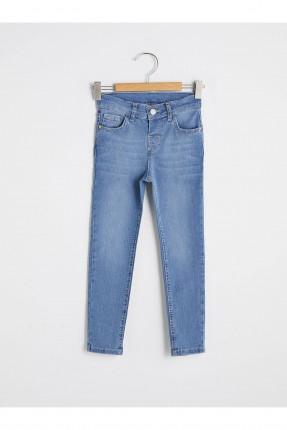 بنطال جينز اطفال ولادي مزين بجيوب