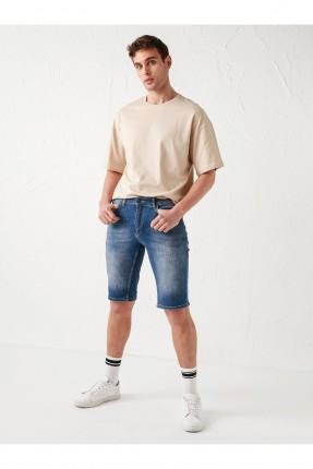 شورت جينز رجالي بكحتة