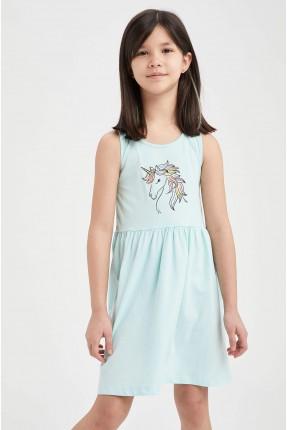فستان اطفال بناتي برسمة