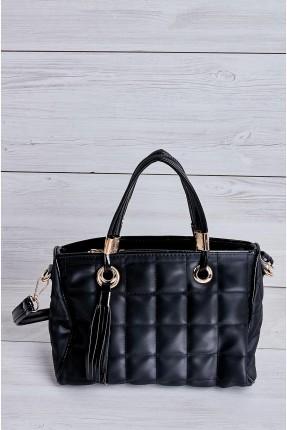 حقيبة يد نسائية بنمط محبوك