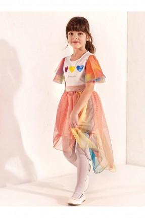 تنورة اطفال بناتي ملونة