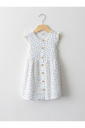 فستان بيبي بناتي منقط