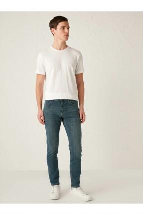بنطال رجالي جينز سادة
