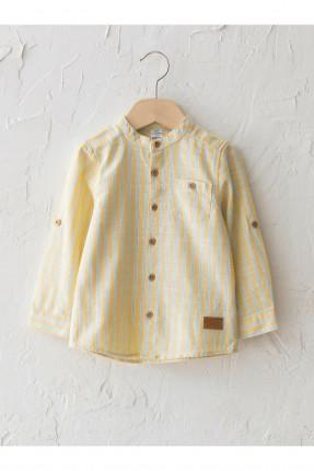 قميص بيبي ولادي مخطط - اصفر