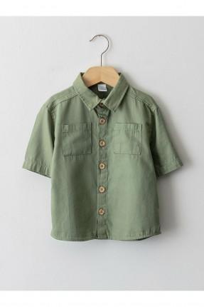قميص بيبي ولادي بطبعة نمر وبكتابة