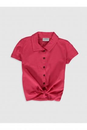 قميص اطفال بناتي بخصر يربط