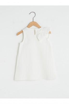 فستان بيبي بناتي بكشكش مائل