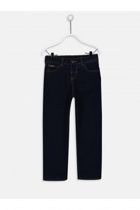 بنطال جينز اطفال ولادي سادة اللون