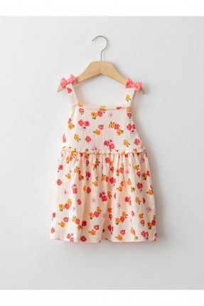 فستان بيبي بناتي مزين بفيونكة