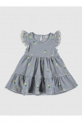 فستان بيبي بناتي بنقشة مخططة