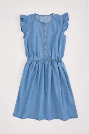 فستان اطفال بناتي جينز