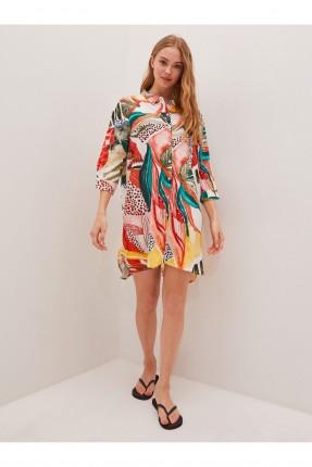فستان للشاطى ملون