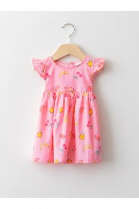 فستان بيبي بناتي بنقشة بفواكه