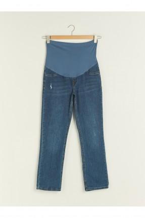 بنطال جينز حمل سليم فيت