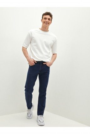 بنطال رجالي جينز سادة اللون