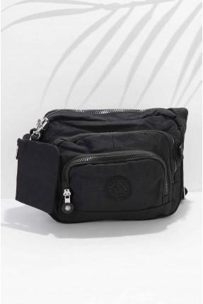حقيبة يد نسائية مزينة بجزدان