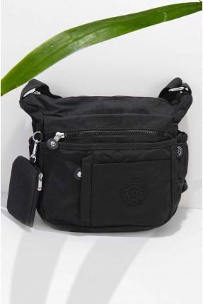 حقيبة يد نسائية بجيوب جانبية