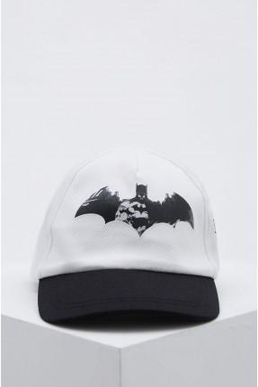 قبعة اطفال ولادي مزينة برسمة بات مان