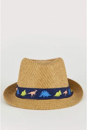 قبعة اطفال ولادي قش