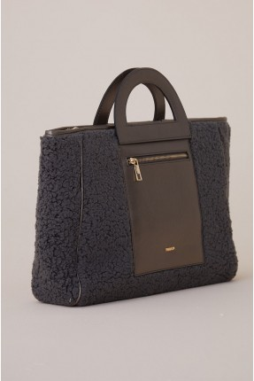 حقيبة يد نسائية بسحاب امامي