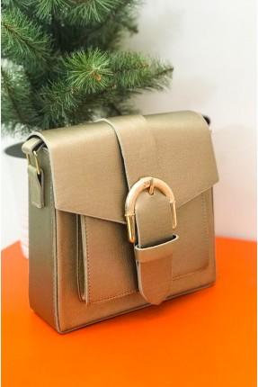حقيبة يد نسائية بحزام قفل