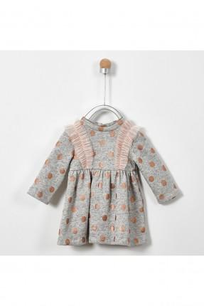 فستان بيبي بناتي مزين بكشكش تول