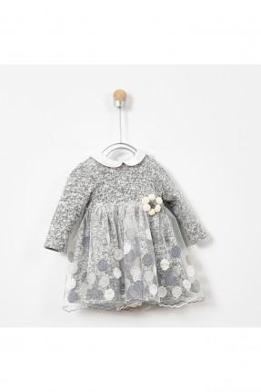 فستان بيبي بناتي مزين بتول