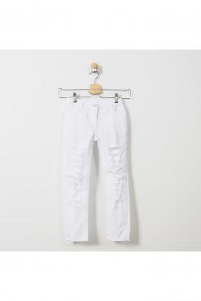 بنطال جينز اطفال بناتي ممزق