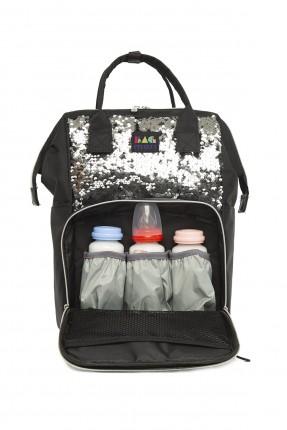 حقيبة تجهيزات بيبي مزينة بالباييت