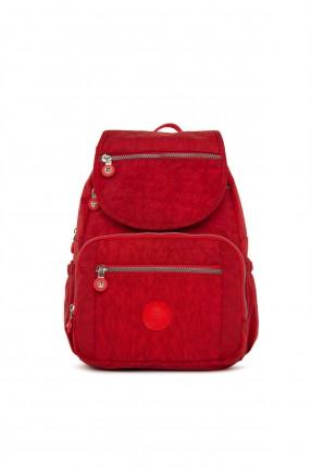 حقيبة تجهيزات بيبي بجيوب - احمر
