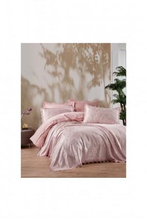 طقم بطانية سرير مزدوج شيك