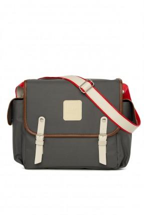 حقيبة تجهيزات بيبي مزينة باحزمة