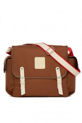 حقيبة تجهيزات بيبي مزينة بشعار الماركة