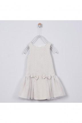 فستان اطفال بناتي مزين بتول