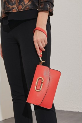 حقيبة يد نسائية سادة اللون