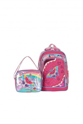 حقيبة ظهر اطفال بناتي بطبعة فراشة
