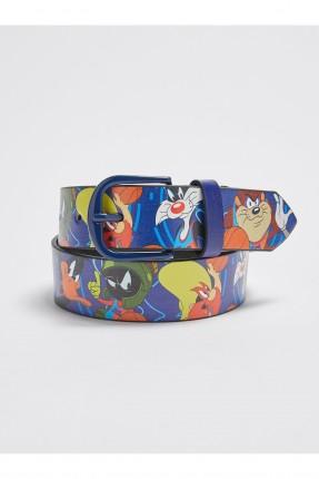 حزام اطفال ولادي برسومات ملونة