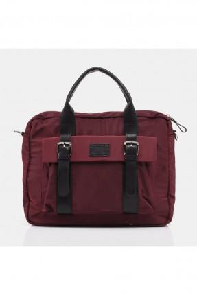 حقيبة يد رجالية - خمري