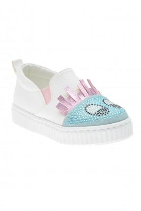 حذاء بيبي بناتي مزين بالستراس