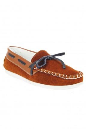 حذاء اطفال ولادي مزين بالدرزة